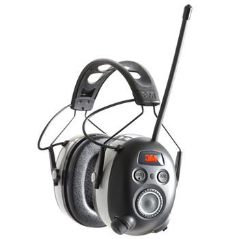 3M/Peltor WorkTunes Wireless Hearing Protector with Bluetooth, AM/FM Radio, Black 90542-3DC, UPC : 076308726539