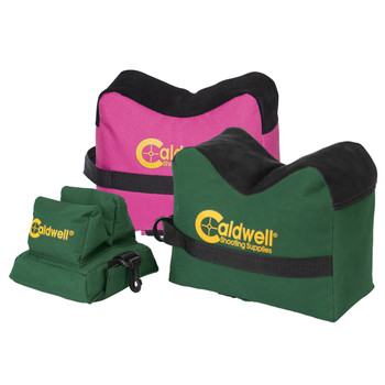 Caldwell Deadshot Shooting Bags, Front, Rear and ComboGreen/Pink, Unfilled 248-885, UPC :661120488859