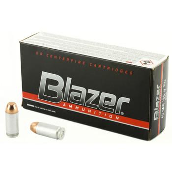 CCI/Speer Blazer, 40 S&W, 165 Grain, Total Metal Jacket, 50 Round Box 3589, UPC : 076683035899
