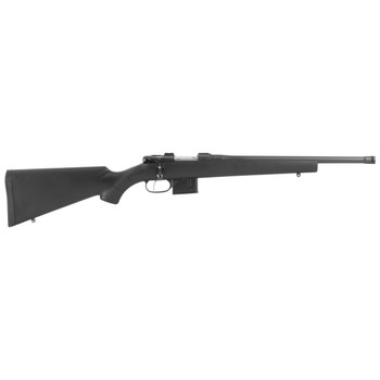 """CZ 527 American Supressor Ready, Bolt Action, 762X39, 16.5"""" Hammer Forged Threaded Barrel, Blued Finish, Synthetic Stock, 5Rd, 5/8x24 Thread Pitch 03086, UPC :806703030869"""