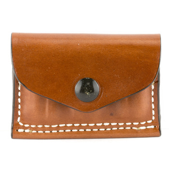 Desantis Cartridge Pouch 2X2X2, Holds 38/357 Cal, Tan Leather A08TJG1Z0, UPC :792695215899