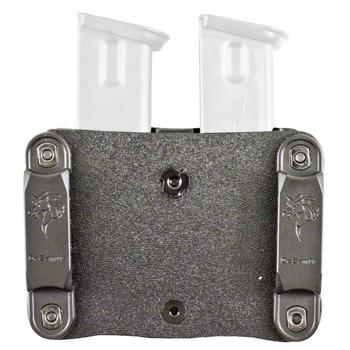 Desantis Quantico, Mag Pouch, Ambidextrous, Black, Single STK 9mm/40, Kydex A87KJEEZ0, UPC :792695347019