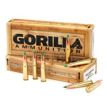 Gorilla Ammunition Company LLC 300 AAC Blackout, 220 Grain, Boat Tail Hollow Point, Subsonic, 20 Round Box GA300220SMKSUB, UPC :858934003099