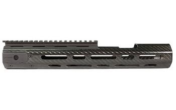 "Lancer Handguard, Carbon Fiber Black, Aluminum Picatinny Sight Rail, Replacement Handguard For Sig 516, Sig 516, 13"" LCH516-CX-L, UPC :738435616779"