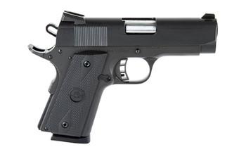 "Armscor Rock Island 1911, Compact Pistol, 45ACP, 3.5"" Barrel, Steel Frame, Blue Finish, Black Grips, Novak Sights, 1 Magazine, 7 Rounds 51429, UPC :4806015514299"