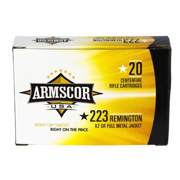 Armscor 223 Rem, 62 Grain, Full Metal Jacket, 20 Round Box FAC223-8N, UPC :812285020129