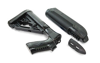 Adaptive Tactical EX Performance Tactical Light and Forend, Black, Moss 500 & 88 12 Gauge, 300-Lumen Beam AT-02901, UPC :682146911329
