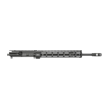 "Midwest Industries Upper, .223 WYLDE, 556NATO, .223, 16"" Nitride Barrel, 1:8 Twist, 14"" G3 M-Lok Rail, 2 Port MI Muzzle Brake, Black Finish (BCG and Charging Handle Not Included) MI-N16M, UPC :816537017479"