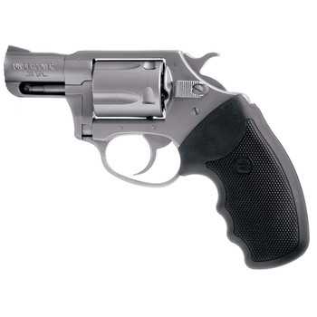 """Charter Arms Undercover, 38 Special, 2"""" Barrel, Steel Frame, Stainless Finish, Rubber Grips, Fixed Sights, 5Rd, Fired Case 73820, UPC :678958738209"""