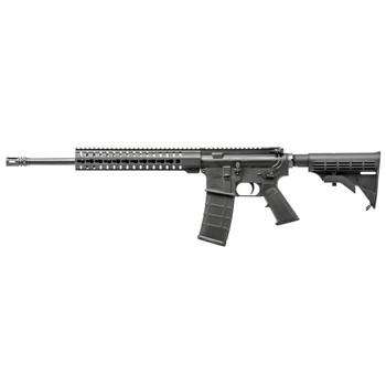 "CMMG Mk4 T, Semi-automatic Rifle, 556NATO, 16.1"" Salt Bath Nitride Barrel, Black Finish, 6 Position Stock, 30Rd, RKM11 KeyMod Handguard, A2 Compensator 55AC72C, UPC :815835015569"