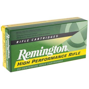 Remington Core Lokt, 222REM, 50 Grain, Pointed Soft Point, 20 Round Box 21303, UPC : 047700050409