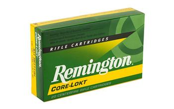 Remington Core Lokt, 303 British, 180 Grain, Soft Point, 20 Round Box 21471, UPC : 047700055909