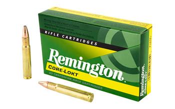 Remington Core Lokt, 35 Whelen 200 Grain, Pointed Soft Point, 20 Round Box 21495, UPC : 047700069609