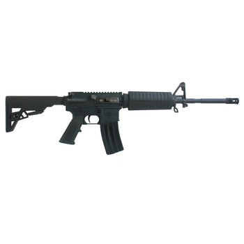 "Diamondback DB15US300B Single Rail Gas Block, Semi-automatic Rifle, 300 AAC Blackout, 16"" Chrome-Moly Barrel, 1:8 Twist, Black Finish, Rogers AR Super-Stoc, A2 Pistol Grip, 30Rd, Standard 2-Piece Handguard, 1 Magazine DB15US300B, UPC :815875017899"
