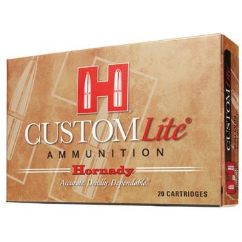 Hornady Custom Lite, 243 Win 87 Grain, SST, Low Recoil, 20 Round Box 80466, UPC : 090255804669