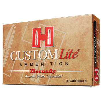 Hornady Custom Lite, 243 Win 87 Grain, SST, Low Recoil, 20 Round Box 80466, UPC : 090255804669