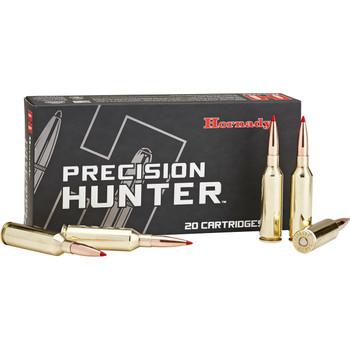 Hornady Precision Hunter, 7MM WSM, 162 Grain, ELD-X, 20 Round Box 80552, UPC : 090255805529