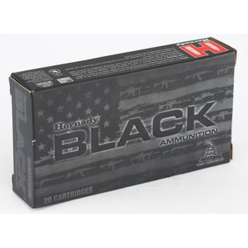 Hornady BLACK, 300 AAC Blackout, 208 Grain, A-MAX, 20 Round Box 80891, UPC : 090255808919