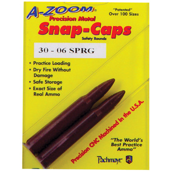 A-Zoom Snap Caps, 30 06, 2 Pack 12227, UPC :666692122279