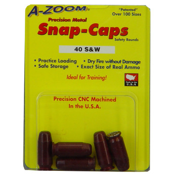 A-Zoom Snap Caps, 40 S&W, 5 Pack 15114, UPC :666692151149