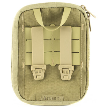 Maxpedition ERZ Everyday Organizer, Custom Molded, Has Multiple Pockets, Elastic Loops and Key Clip, Tan ERZTAN, UPC :846909021209