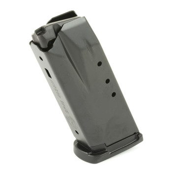 Ruger Magazine, 40 S&W, 9Rd, Black, with Finger Rest, Fits Ruger SR40c 90368, UPC :736676903689