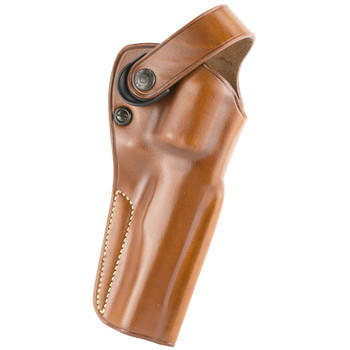 """Galco Outdoorsman Belt Holster, Fits Ruger Redhawk with 5.5"""" Barrel, Right Hand, Tan DAO178, UPC :601299177239"""