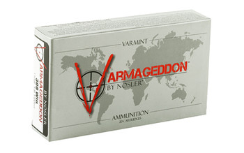 Nosler Varmageddon, 308 Win, 110 Grain, Flat Base Tipped, 20 Round Box 40272, UPC : 054041402729