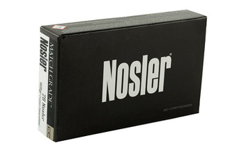 Nosler Match, 28 168 Grain, Custom Competition, Boat Tail Hollow Point, 20 Round Box 51287, UPC : 054041512879