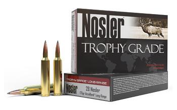 Nosler Trophy Long Range, 28 175 Grain, AccuBond, 20 Round Box 60155, UPC : 054041601559