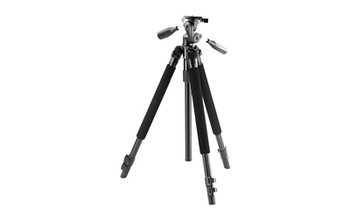 "Bushnell Tripod, Titanium, 63"" Black Finish 784040, UPC : 029757784049"