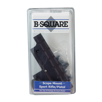 B-Square 1 Piece Base, Fits Ruger Mini-14, Includes Rings,Matte 14502, UPC : 054082145029