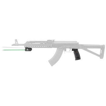 Crimson Trace Corporation LiNQ Wireless Laser and White Light for AK Rifles, Fits 1913 Picatinny Rail, 300 Lumen LED, Replacement Grip is Ergonomically Designed for Complete Control of Operation of Laser and Light Module, Green Laser, 4 Modes Include