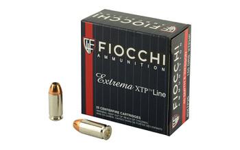 Fiocchi Ammunition Centerfire Pistol, 40S&W, 165 Grain, Copper Metal Jacket, 50 Round Box 40XTP25, UPC :762344710549
