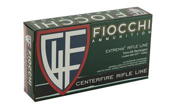 Fiocchi Ammunition Rifle, 7MM-08, 139 Grain, SST, 20 Round Box 7MM08HSA, UPC :762344711249