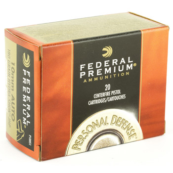 Federal Hydra-Shok, 10MM, 180 Grain, Hollow Point P10HS1, UPC : 029465088439