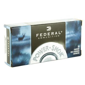 Federal PowerShok, 300 Savage, 180 Grain, Soft Point, 20 Round Box 300B, UPC : 029465084639