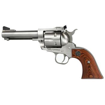 "Ruger Blackhawk, Single-Action Revolver, 357 Mag, 4.6"" Barrel, Satin Stainless Finish, Stainles Steel Frame, Hardwood Grips, Adjustable Rear Sight & Ramp Front Sight, 6Rd 00309, UPC :736676003099"
