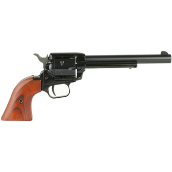 """Heritage Rough Rider, Single Action Army, 22LR, 6.5"""" Barrel, Alloy Frame, Blue Finish, Wood Grips, Fixed Sights, 6Rd, Right Hand, Long Rifle Cylinder Only RR22B6, UPC :727962500309"""
