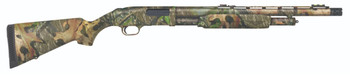 "Mossberg 500 Turkey, Pump Action Shotgun, 12 Gauge, 3"" Chamber, 20"" Vent Rib Barrel, X-Factor Ported Choke, Mossy Oak Obsession Finish, Synthetic Stock, Adjustable Fiber Optic Sight, 5Rd 52280, UPC : 015813522809"