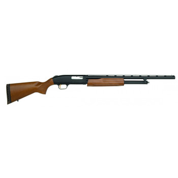 "Mossberg 500, Bantam Youth, Pump Action, 20 Gauge, 3"" Chamber, 22"" Vent Rib Barrel, AccuChoke, Blue Finish, Wood Stock, Bead Sight, 5Rd, 54132, UPC : 015813541329"