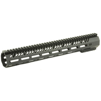 Mission First Tactical Tekko, MLOK Rail System, Fits AR Rifles, Free Float, Metal, Black Finish TMARFF15MRS, UPC :814002020849