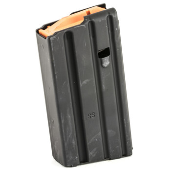 Ammunition Storage Components Magazine, 223 Rem, Fits AR-15, 20Rd, Stainless, Black 223-20RD-SS, UPC :818805011769