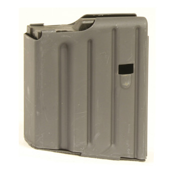 Ammunition Storage Components Magazine, 308 Win, Fits AR Rifles, 10Rd, Stainless, Black 308-10RD-SS, UPC :818805010489