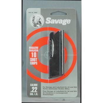 Savage Magazine, 22LR, Savage Model 62, 64, 954 Savage Series, Blue 30005, UPC : 062654300059
