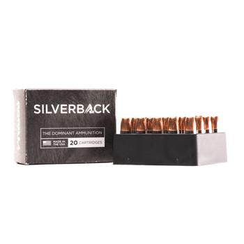 Gorilla Ammunition Company LLC Silverback Self Defense, 9MM, 115 Grain, Solid Copper Hollow Point, Lead Free, 20 Round Box SB9115SSD, UPC :858934003389