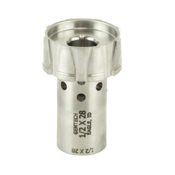 Gemtech Gemtech, GM-45/Blackside Threaded Piston Adapter, 1/2 x 28 Thread Pitch 12184, UPC :609224345869