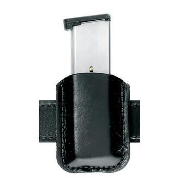 Safariland Model 81 Magazine Pouch, Single Magazine/Double Stack, Black 81-83-2, UPC :781602059169