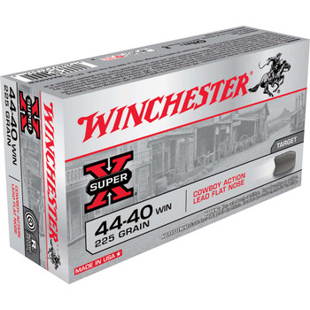 Winchester Ammunition USA, 44-40, 225 Grain, Lead, 50 Round Box USA4440CB, UPC : 020892213579