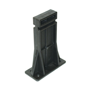 "Ergo Grip Spike's Block Mountable Gun Stand, Supports Lower for Cleaning, Maintenance, and Light Assembly, and Storage, 1/4"" Mounting Holes, for AR-15/M16, Black 4996, UPC :874748005029"